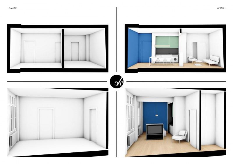 Nouveau Projet D 39 Amenagement D 39 Un Appartement Ekarchitecte