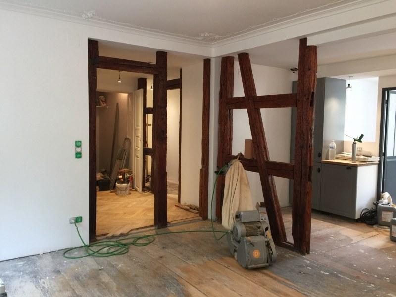 amenagement d 39 un appartement ekarchitecte. Black Bedroom Furniture Sets. Home Design Ideas