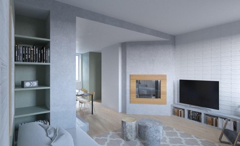 Amenagement d 39 un appartement en duplex ekarchitecte for Amenagement appartement 2 pieces